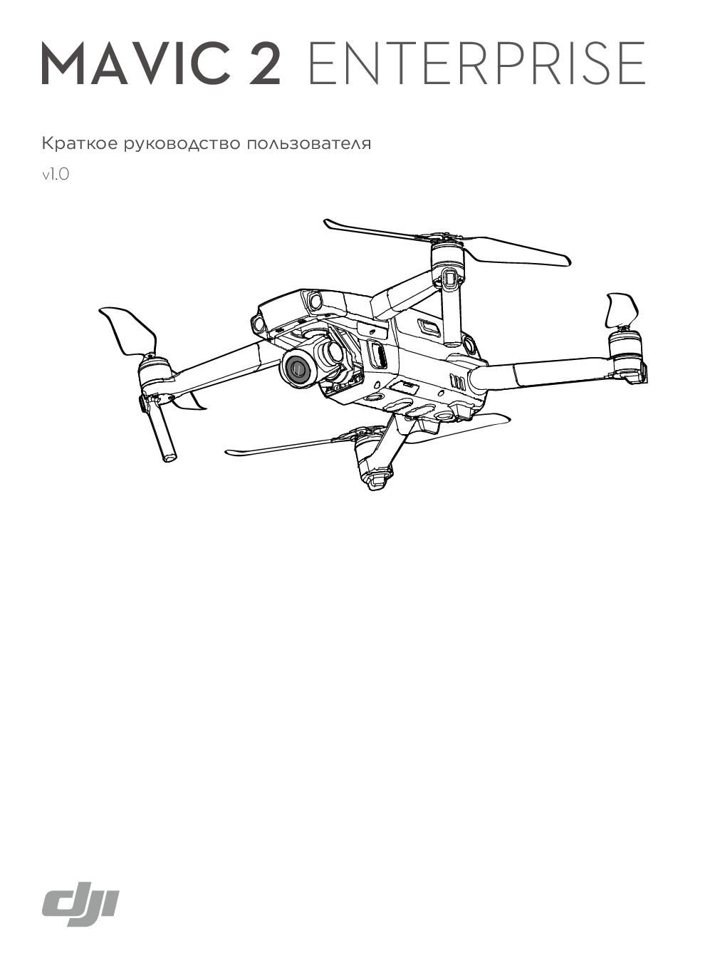 DJI Mavic 2 Enterprise краткая инструкция на русском